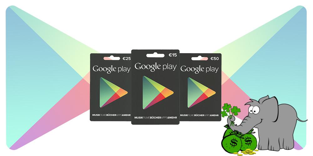 google play guthaben gewinnen