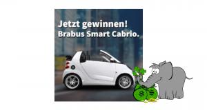Brabus Smart Cabrio gewinnen Vorschau
