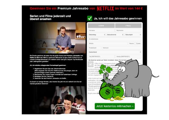 Netflix Jahresabo gewinnen Vorschau