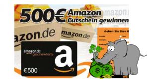 Amazon Gutschein gewinnen Vorschau