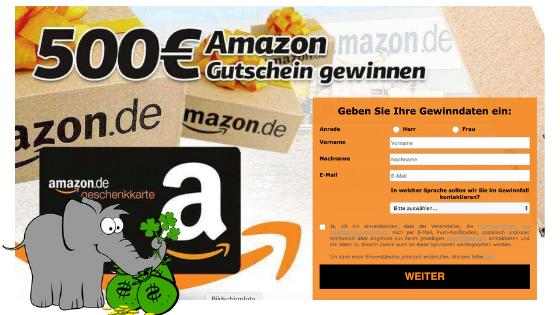 Amazon Gutschein Gewonnen