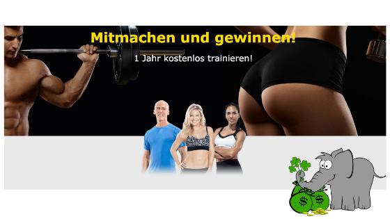 Fitness Jahresabo gewinnen Vorschau