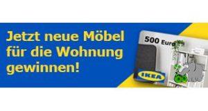 IKEA Gutschein gewinnen Vorschau