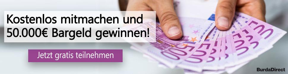Bargeld Gewinnspiel Galerie