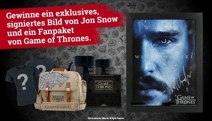 Fanpaket von Game of Thrones Vorschau