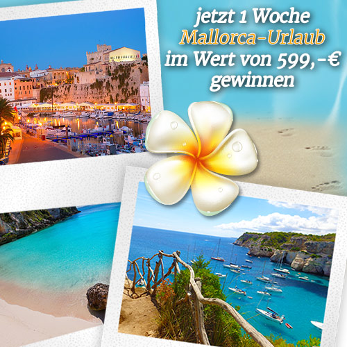 Mallorca Urlaub gewinnen Vorschau