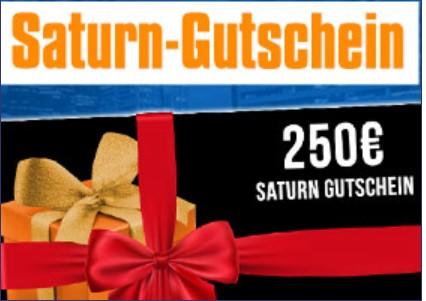Saturn Gutschein Galerie