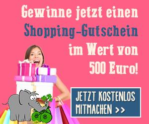 Shopping-Gutschein gewinnen Vorschau
